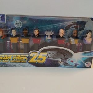 Other - Star Trek Next Generation 25th Anniversary Pez Set